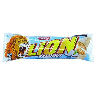 Шоколадный батончик Nestle Lion Coconut 40 гр, фото 1