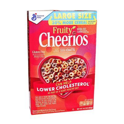 Цельнозерновые овсяные хлопья Fruitty Cheerios 402 гр, фото 1