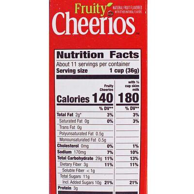 Цельнозерновые овсяные хлопья Fruitty Cheerios 402 гр, фото 5