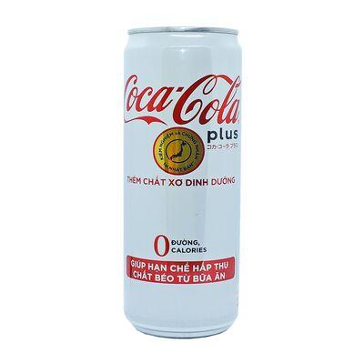 Газированный напиток 0 калорий Coca-Cola Plus 330 ml, фото 1