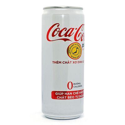 Газированный напиток 0 калорий Coca-Cola Plus 330 ml, фото 2