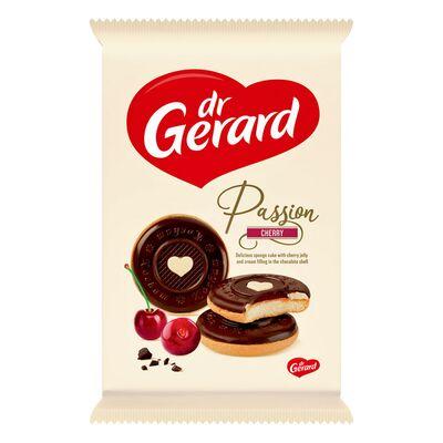 Бисквитное печенье с вишневой начинкой Passion Cherry Dr.Gerard 150 гр, фото 1