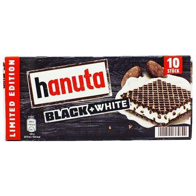 Вафли с молочным кремом и печеньем Hanuta Black & White 10 штук 220 гр, фото 2