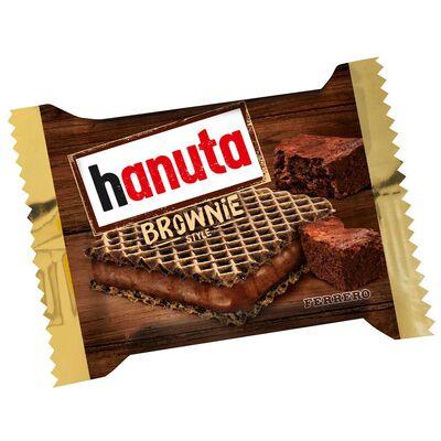 Вафли Hanuta Brownie Style 10 штук Ferrero 220 гр, фото 2