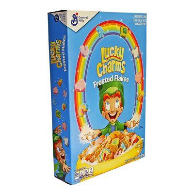 Кукурузные хлопья с маршмеллоу Frosted Flakes Lucky Charms 391 гр, фото 2
