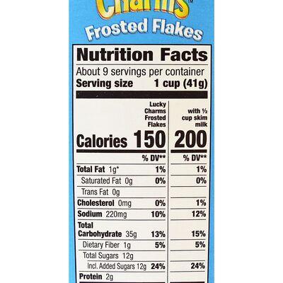 Кукурузные хлопья с маршмеллоу Frosted Flakes Lucky Charms 391 гр, фото 4