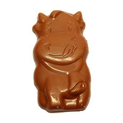 Шоколад с карамельным кремом Moo Caramel Creme Milka 16 гр, фото 3