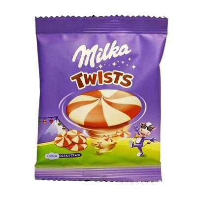 Шоколад Twists Milka 14,4 гр, фото 1