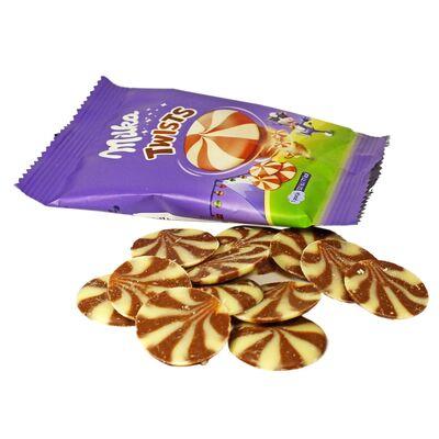 Шоколад Twists Milka 14,4 гр, фото 3