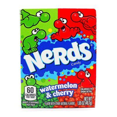 Жевательные конфеты Cherry Watermelon Nerds Wonka 46,7 гр, фото 5