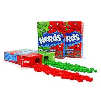 Жевательные конфеты Cherry Watermelon Nerds Wonka 46,7 гр, фото 3