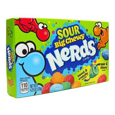 Конфеты с кислым центром Sour Big Chewy Nerds Wonka 120 гр, фото 2