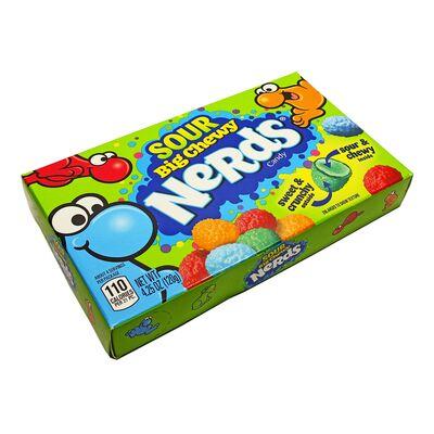 Конфеты с кислым центром Sour Big Chewy Nerds Wonka 120 гр, фото 3