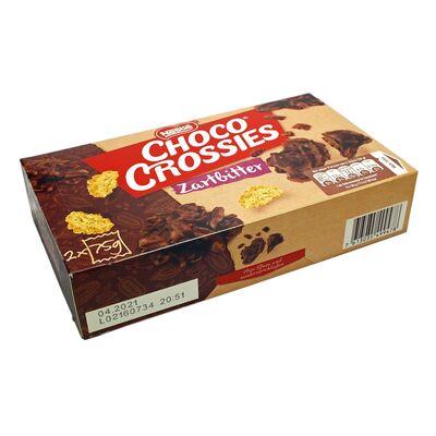 Хрустящие кусочки темный шоколад Choco Crossies Dark Nestle 150 гр, фото 2