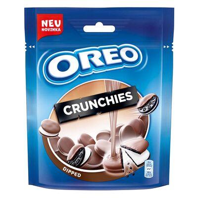 Мини печенье в молочном шоколаде Oreo Crunchies 110 гр, фото 1