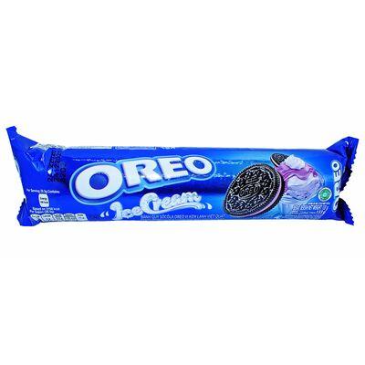 Печенье c кремом черничное мороженое Oreo Ice Creme 133 гр, фото 1