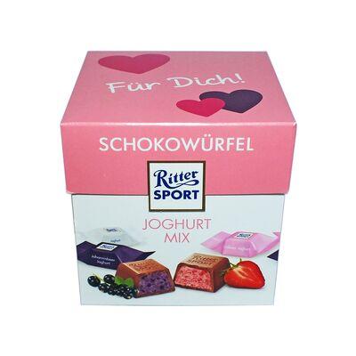 Набор конфет Ritter Sport Choco Cubes Yoghurt 176 гр, фото 4