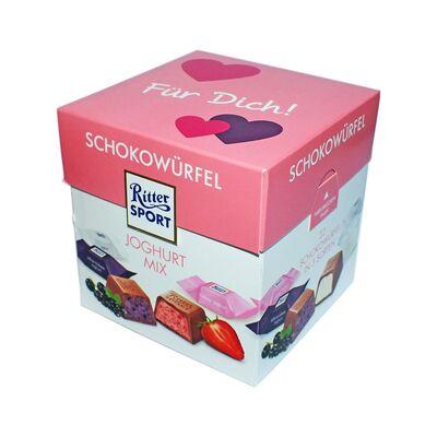 Набор конфет Ritter Sport Choco Cubes Yoghurt 176 гр, фото 5