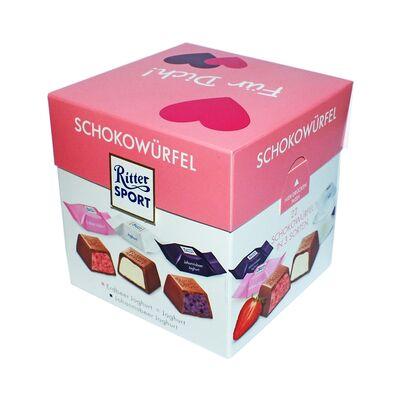 Набор конфет Ritter Sport Choco Cubes Yoghurt 176 гр, фото 6
