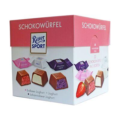 Набор конфет Ritter Sport Choco Cubes Yoghurt 176 гр, фото 1