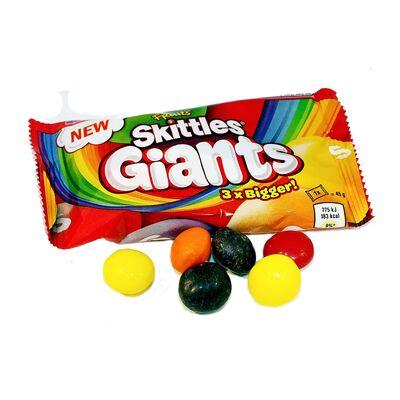 Гигантские драже Fruits Giants Skittles 45 гр, фото 3