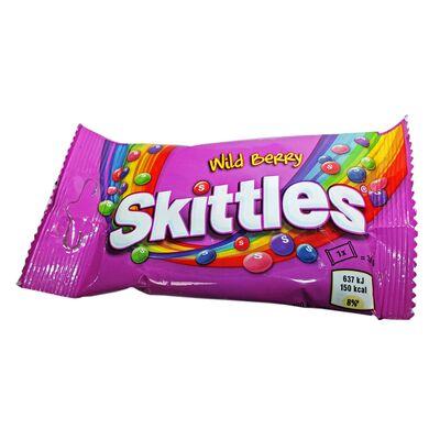 Драже со вкусом диких ягод Wild Berry Skittles 38 гр, фото 2